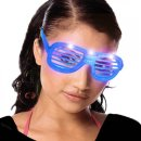 Brille Spass LED Party Light farbig sortiert 14,5cm