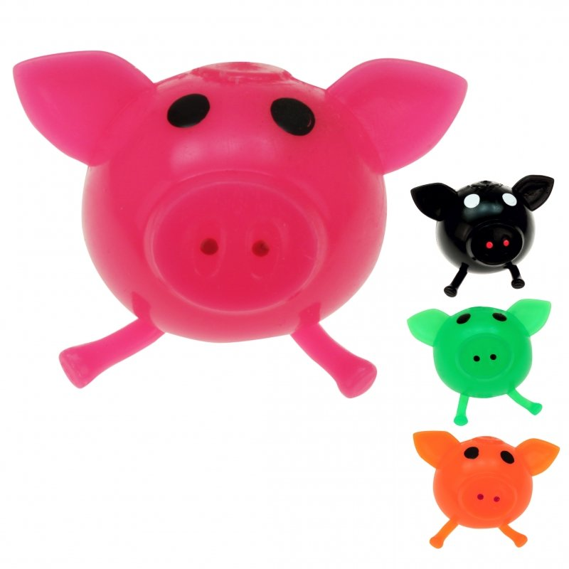 Splash Slime Schwein farb.sort. 8*6cm