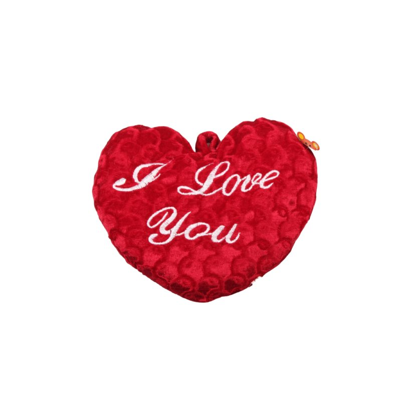 Herz rot bordeaux I Love you 30cm